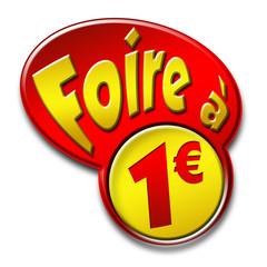 bouton foire 1€