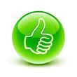 icône pouce haut ok / thumb up icon
