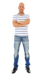 Attraktiver Mann mittleren Alters