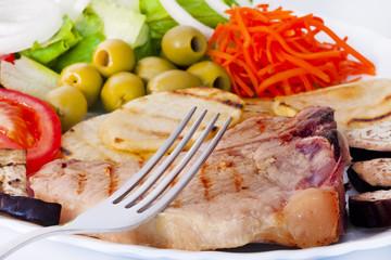 dieta de carne asada