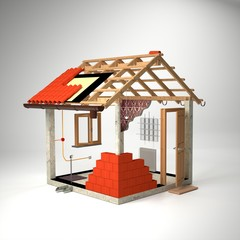 Deconstructed House