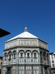 The Baptistery of San Giovanni in Florence Italy.