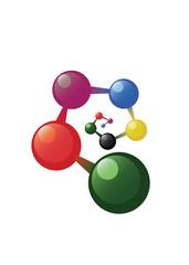 Spiral atom model