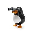 Pinguin mit Weitsicht (Fernglas)