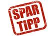 Grunge Stempel rot SPAR TIPP