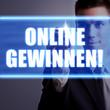 Online gewinnen - touchscreen