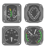 Aircraft gauges set #2