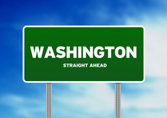 Washington Highway Sign