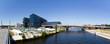 Leinwanddruck Bild - Berliner Hauptbahnhof Panorama