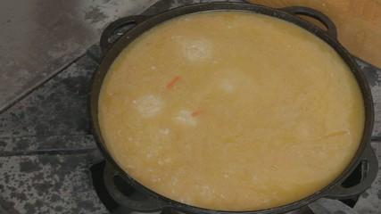 EDIT Leaving pilaf simmering slowly