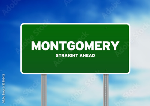 Montgomery Highway Sign