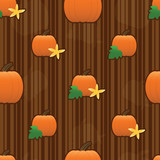 Pumpkin Seamless Tile