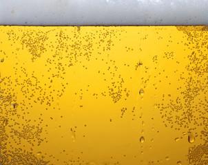 Light beer texture