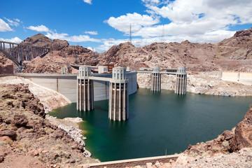 Hoover Dam on the border of Arizona and Nevada