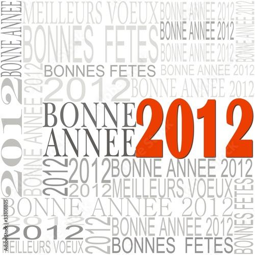 BONNE ANNEE 2012 © serge parin #33808805 - Voir le portfolio