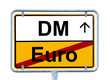 Euro return DM