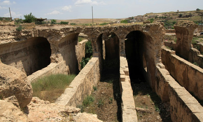 The Water cistern in Dara Ancient City, Mardin