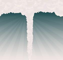 Tornado illustration vector background