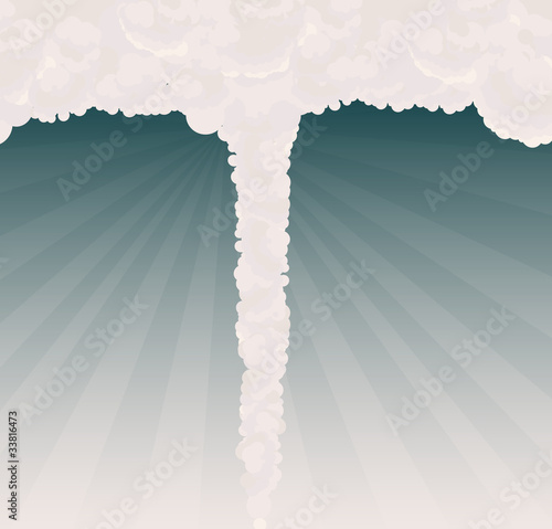 Tornado illustration vector background
