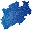 Karte Nordrhein-Westfalen