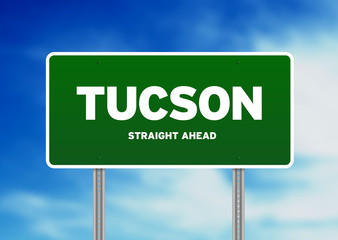 Tucson, Arizona Highway Sign