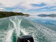 Motorboat Trip on Lake Laberge, Yukon T., Canada - 33821031