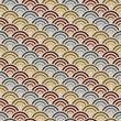 Orient style circles background
