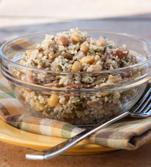 Vegan Sunflower Couscous Salad
