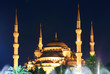 Blue Mosque at night - Istanbul