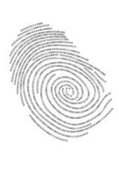Binary finger print, vector