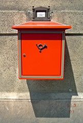 Hungarian post box