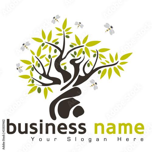 logo arbre design