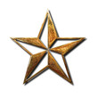 Golden star symbol