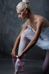 Beautiful ballet dancer