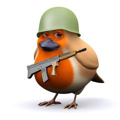 3d Robin prepares for war