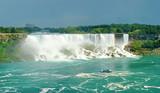 Fototapeta Kanada - spada - Kaskada / Wodospad / Gejzer