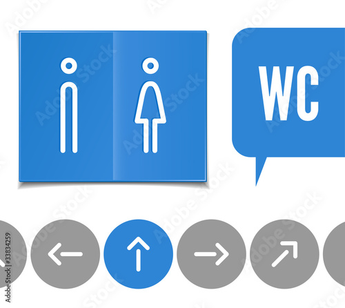 wc pictogram