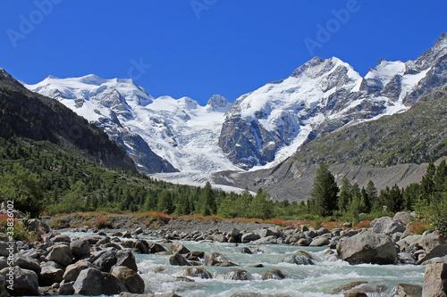 Fototapeten,gletscher,ewiges leben,bach,gletscherfahrzeug