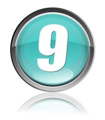 numero nove icona