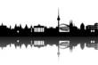 Deutschland Städte abstrakt
