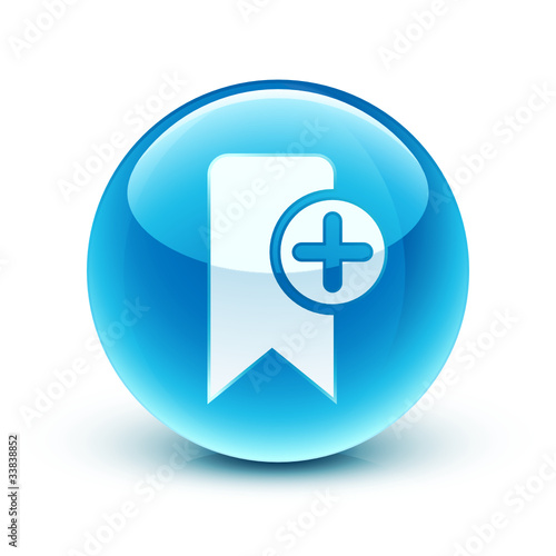 icône signet favori/ bookmark icon