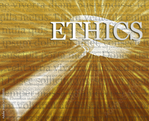 Ethics search illustration