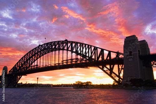 Fototapeten,australien,brücke,hafen,sydney
