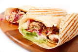 Kebab con salsa piccante - 33846229
