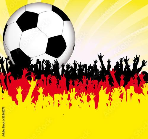 Fußball Jubel Deutschland