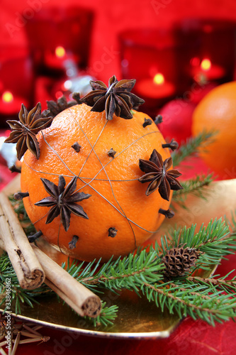 Advent mit Duftorange - Orange Scent in Advent