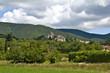 Village provençal de Le Poët-Laval en France