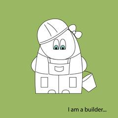 I am a builder white
