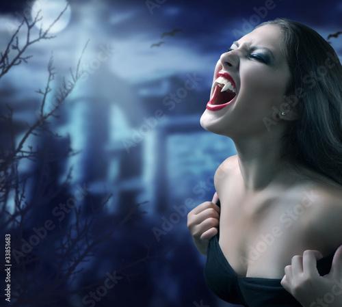 Papiers peints Pleine lune Vampire