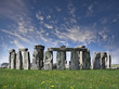 Mysterious Stonehenge in UK